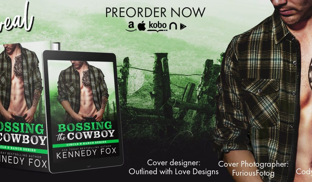BOSSING THE COWBOY COVER REVEAL