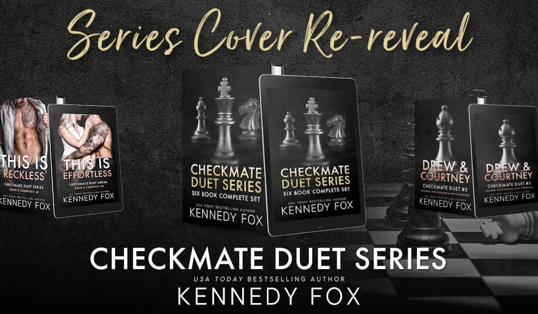CHECKMATE DUET SERIES COVER RE-REVEAL